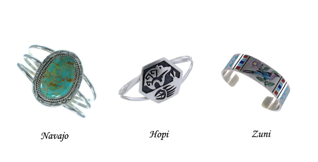 Difference Between Navajo And Zuni Style Jewelry